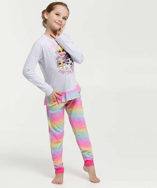 Image_Pijama Infantil Estampa Boneca Manga Longa Lol