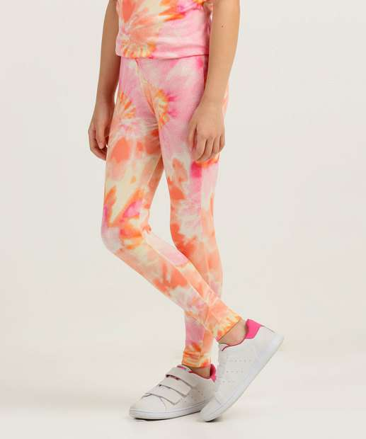 Image_Calça Infantil Legging Estampa Tie Dye Tam 4 a 10