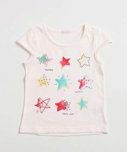 Image_Blusa Infantil Estampa Estrelas Manga Curta Marisa