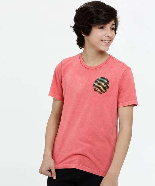 Image_Camiseta Juvenil Estampa Frontal Manga Curta MR