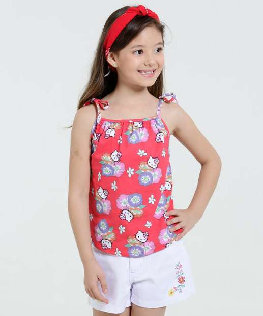 Image_Blusa Infantil Estampa Hello Kitty Marisa