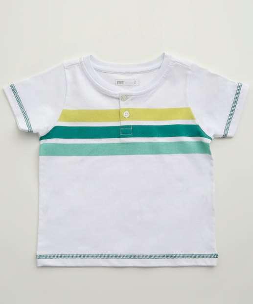 Image_Camiseta Infantil Listras Manga Curta MR