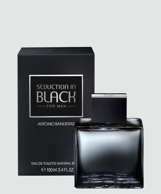 Image_Perfume Masculino Antonio Banderas Seduction In Black - Eau de Toilette 100ml