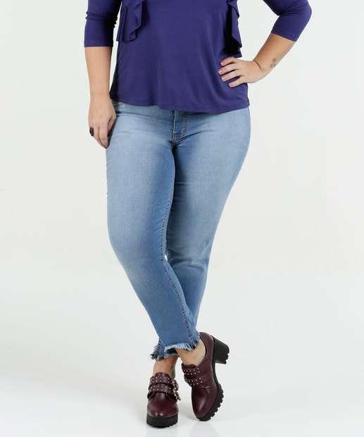 Image_Calça Feminina Jeans Cigarrete Plus Size Biotipo