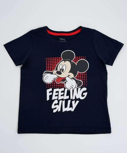 Image_Camiseta Infantil Mickey Manga Curta Disney