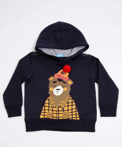 Image_Blusão Infantil Moletom Estampa Urso MR