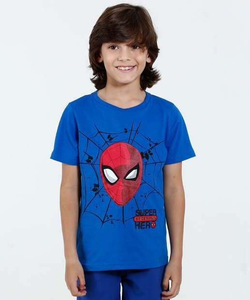 Image_Camiseta Infantil Homem Aranha Marvel