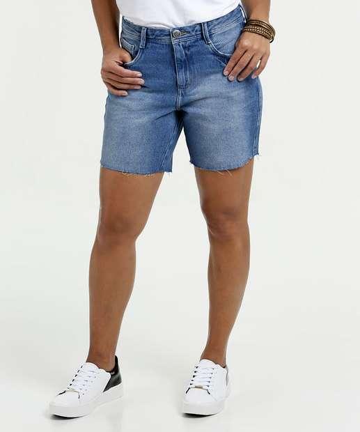 Image_Bermuda Feminina Jeans Bolsos Marisa