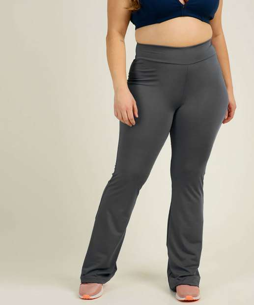 Image_Calça Plus Size Feminina Fitness Flare Costa Rica