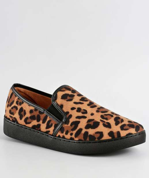 Image_Tênis Feminino Slip On Animal Print Vizzano 1214200