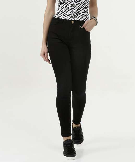 Image_Calça Feminina Sarja Skinny Five Jeans
