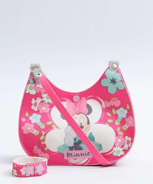 Image_Kit Bolsa Infantil Estampa Minnie Disney
