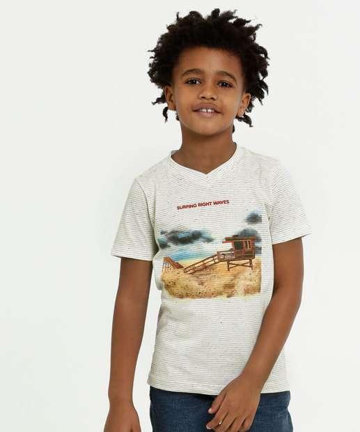 Image_Camiseta Infantil Botonê Estampa Frontal Manga Curta MR