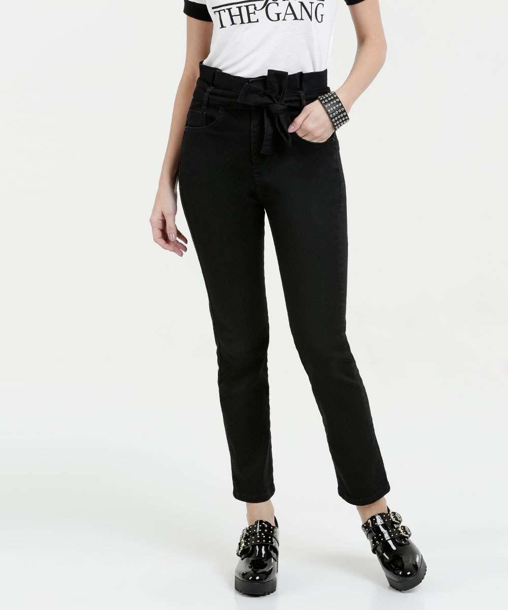 d3c6adc59 Calça Feminina Jeans Stretch Clochard Marisa | Marisa