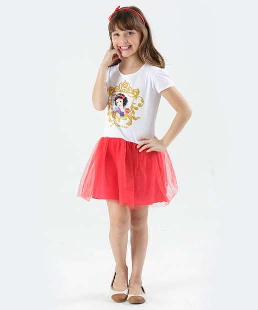 Image_Vestido Infantil Branca de Neve Tiara Disney