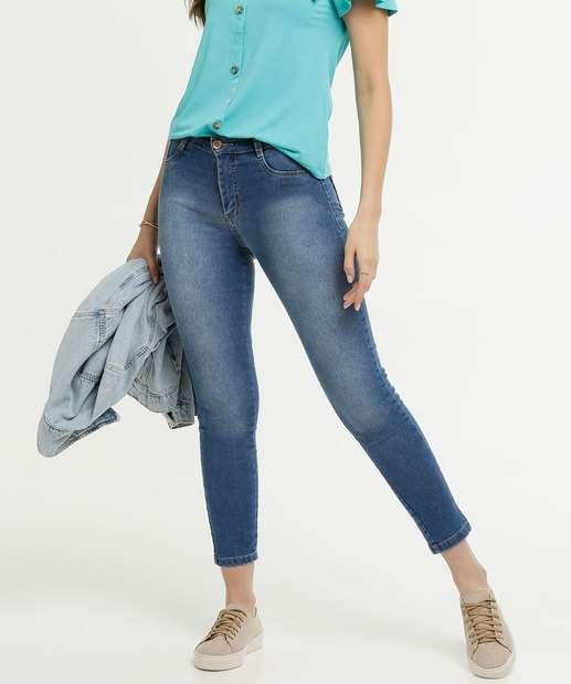 Image_Calça Jeans Hot Pant Cigarrete Feminina Sawary