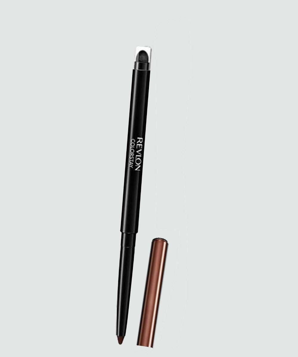 Lápis de Olho Retrátil Colorstay Eyeliner Revlon - Marrom