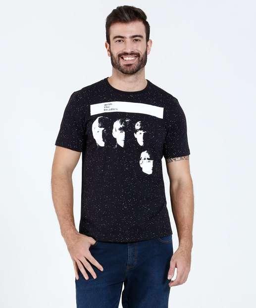 Image_Camiseta Masculina Manga Curta The Beatles Marisa