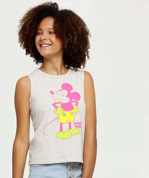 Image_Regata Juvenil Estampa Mickey Neon Disney