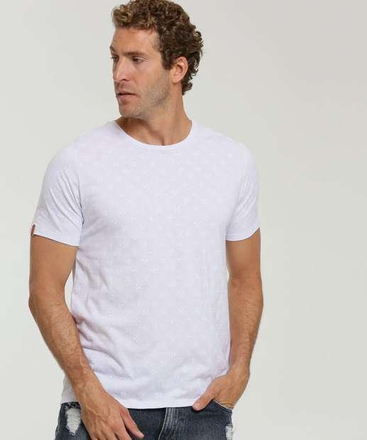 Image_Camiseta Masculina Estampada Manga Curta