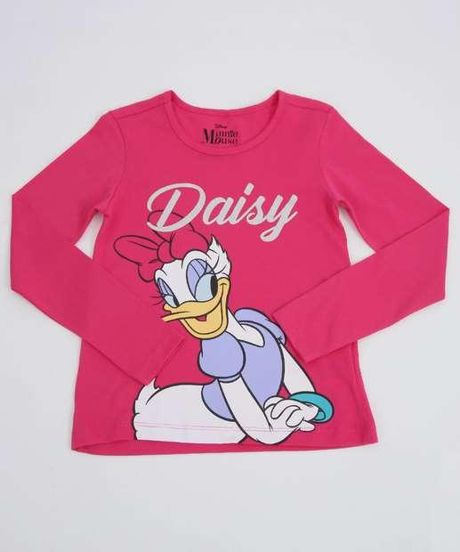Image_Blusa Infantil Estampa Margarida Manga Longa Disney