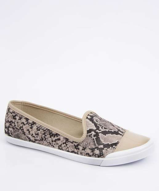 Image_Sapatilha Feminina Slipper Estampa Animal Print Moleca