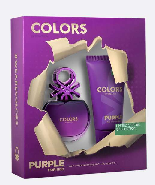 Image_Kit Feminino Perfume e Loção Corporal - United Colors of Benetton Purple