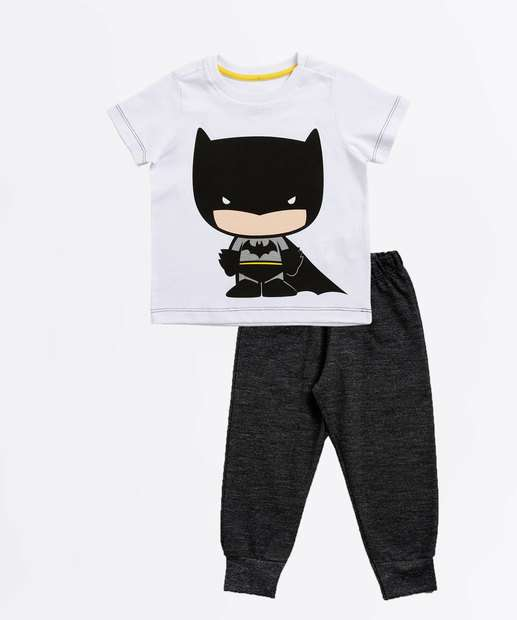 Image_Conjunto Infantil Estampa Batman Manga Curta Liga da Justiça