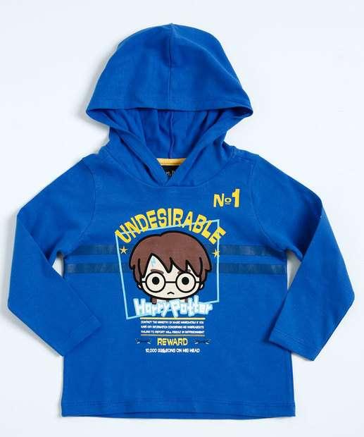 Image_Camiseta Infantil Harry Potter Manga Longa Warner