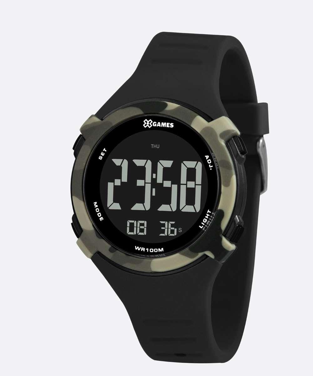 Relógio Masculino Camuflado XGames XMPPD590 PXPX