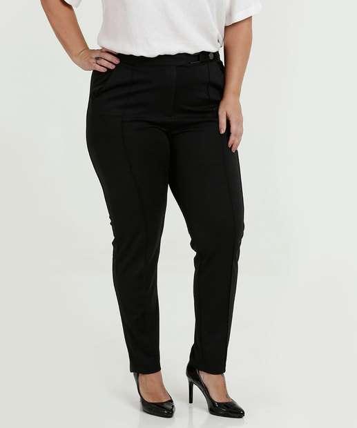 763994f70 Calça Feminina Skinny Fivela Plus Size Marisa