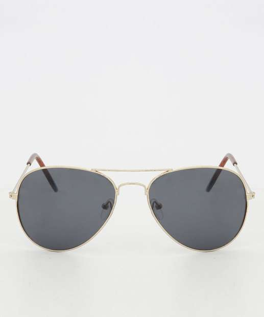 415bfc9a6016b Óculos de Sol Feminino Aviador Marisa