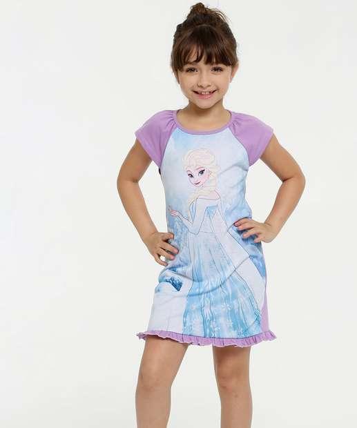 Image_Camisola Infantil Estampa Frozen Disney