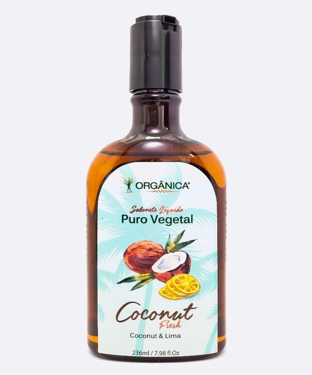 Sabonete Líquido Corporal Coconut & Lima Orgânica 236ml