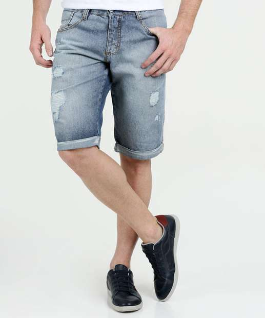 Image_Bermuda Masculina Jeans Destroyed Biotipo