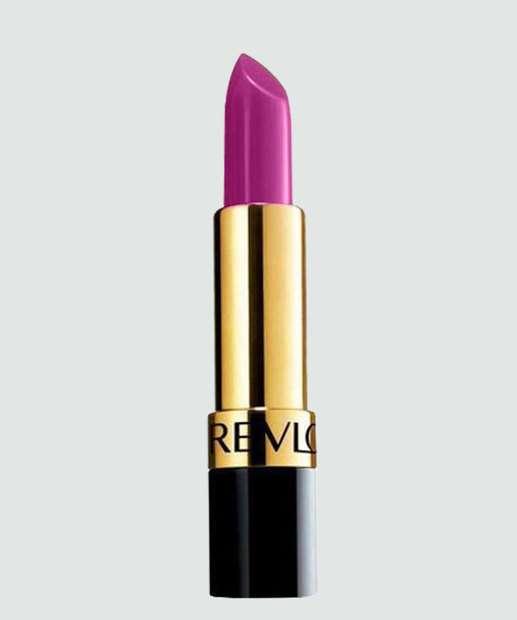 Image_Batom Super Lustrous Lipstick Revlon - Iced Amethyst