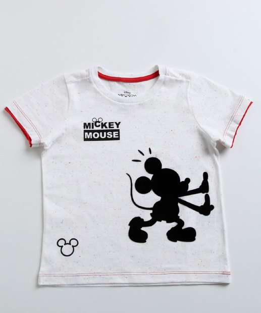 Image_Camiseta Infantil Patches Mickey Manga Curta Disney