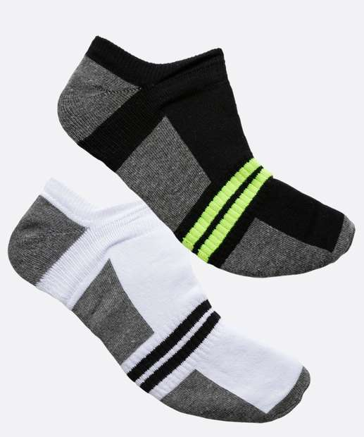 Image_Kit 2 Pares de Meias Neon Masculina MR