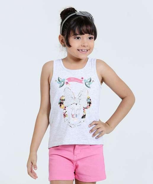 Image_Regata Infantil Minnie Strass Disney