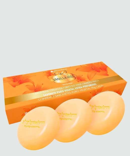 Image_Kit Sabonetes em Barra Vanilla Kiss Phytoderm 3x90gr