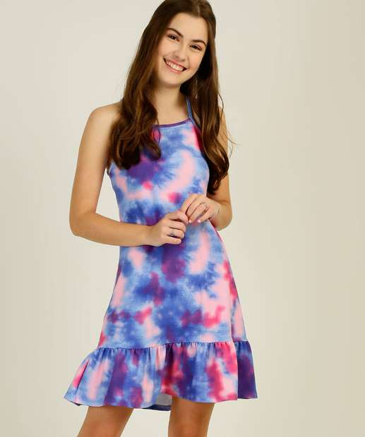 Image_Vestido Juvenil Tie Dye Marisa Tam 10 a 16