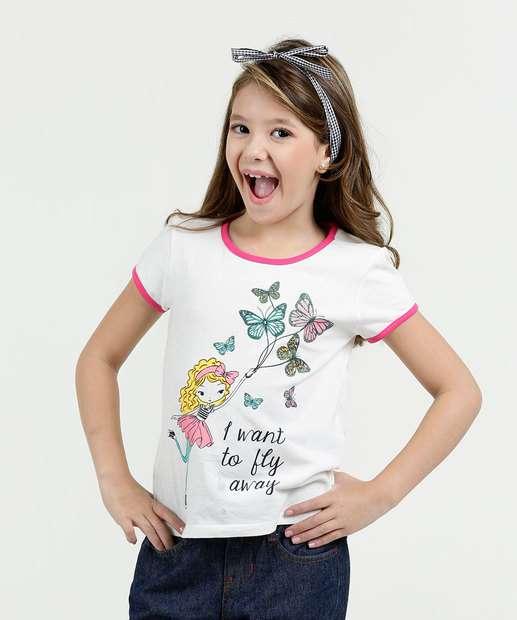 Image_Blusa Infantil Estampa Borboleta Manga Curta Marisa