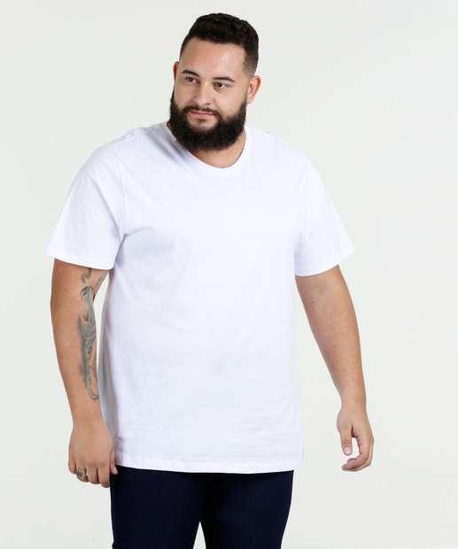 Image_Camiseta Masculina Manga Curta Plus Size Kohmar