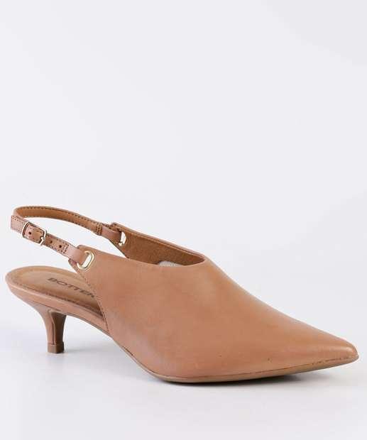 655ebf2f60 Scarpin Feminino Chanel Salto Fino Bottero