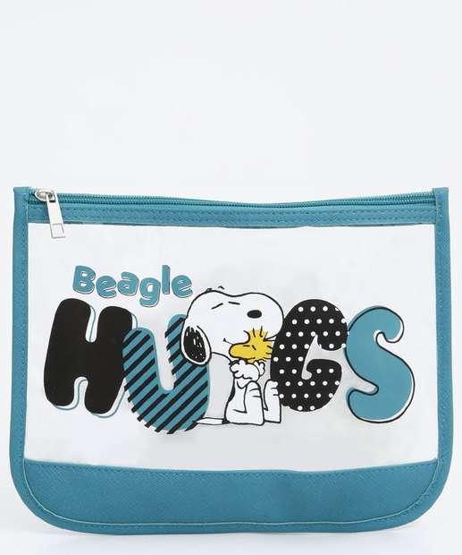 Image_Necessaire Feminina Estampa Snoopy