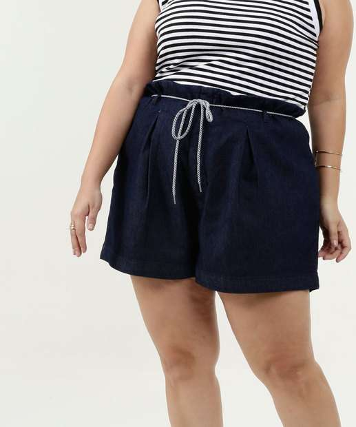 Image_Short Feminino Jeans Clochard Plus Size Razon