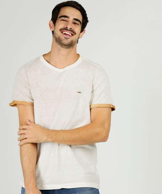 Image_Camiseta Masculina Recorte Manga Curta Zune Jeans