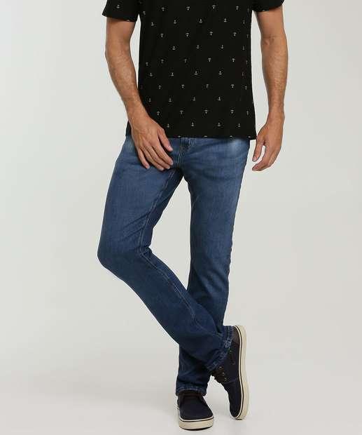 Image_Calça Masculina Jeans Slim Bolsos MR