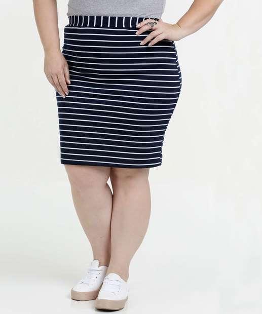 Image_Saia Feminina Listrada Plus Size Luktal