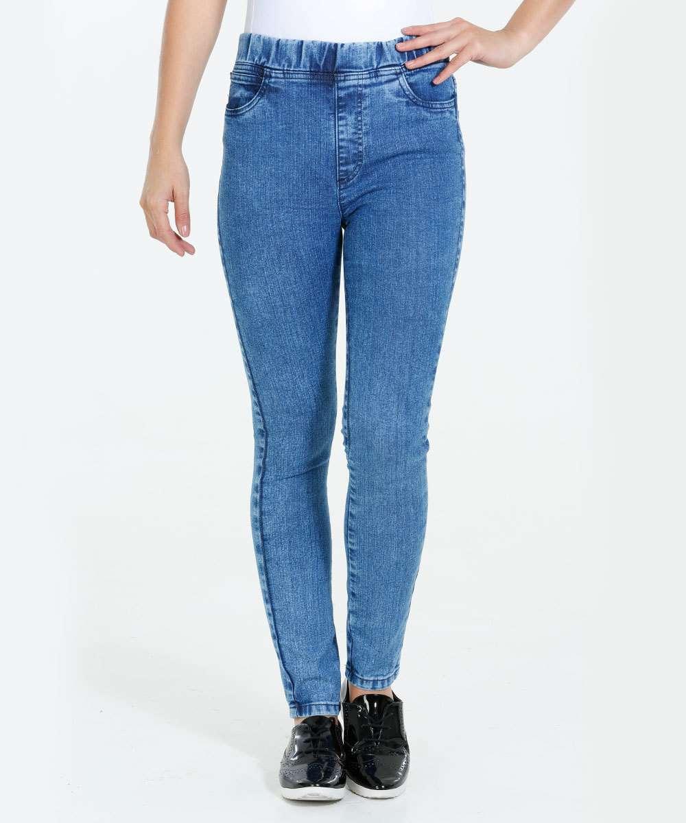 Calça Feminina Jegging Jeans Stretch Marisa